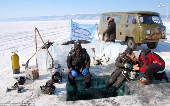 عمیق ترین دریاچه دنیا,درباچه بایکال در روسیه