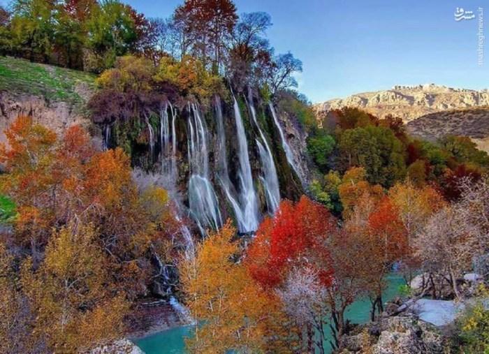 آبشار بیشه در جنوب شهرستان دورود استان لرستان