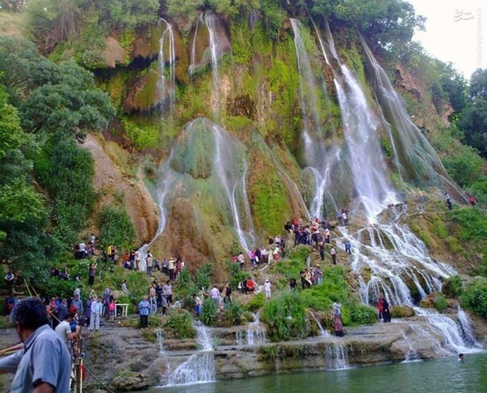 آبشاری شگفت انگیز در لرستان