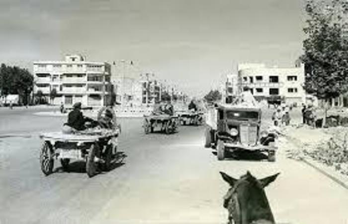 عکس قدیمی از میدان فردوسی تهران در دهه 20