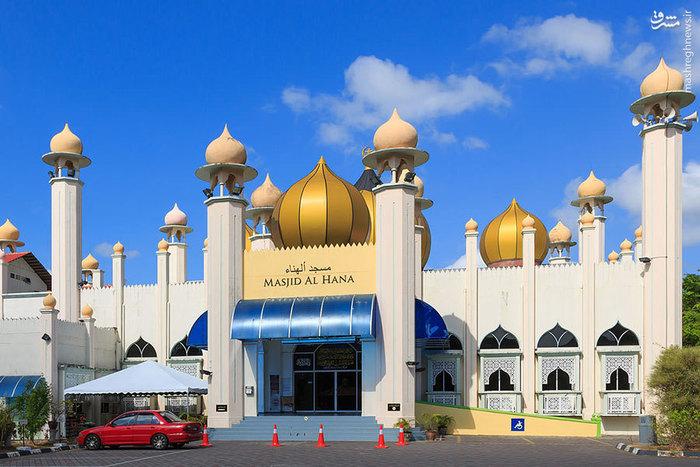 مسجد الهنا در جزیره لنکاوی مالزی