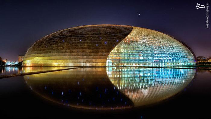 شاهکار معمار فرانسوی پل اندرو در چین