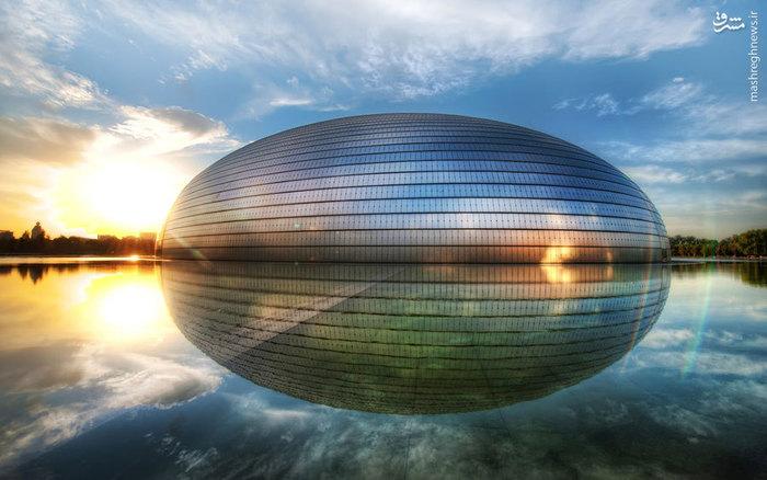 شاهکار معماری مدرن در چین - معمار پل اندرو