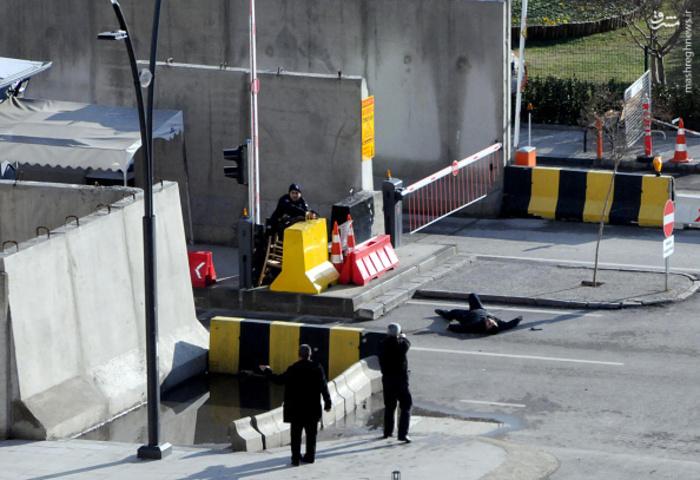 عکس/ درگیری پلیس ترکیه با مهاجمان مسلح در غازی عینتاپ,