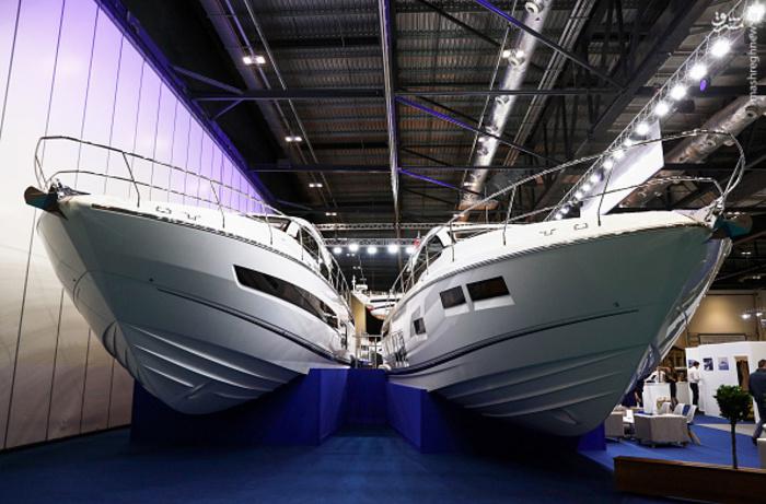 عکس/ نمایشگاه قایقهای لوکس و تفریحی در لندن