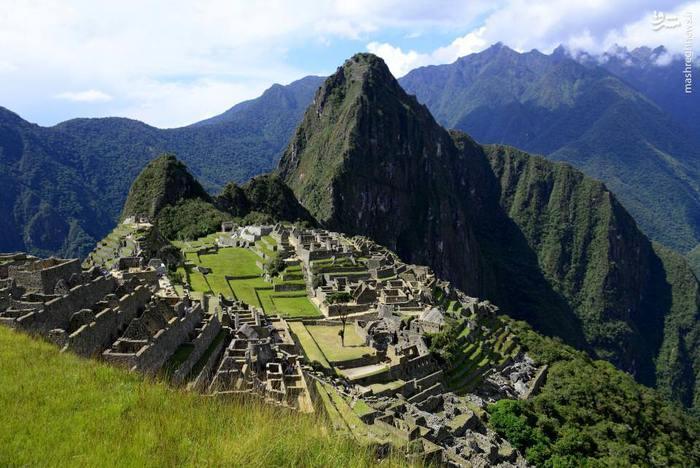 شهر گمشده ماچو پیچو در کوههای آند کشور پرو