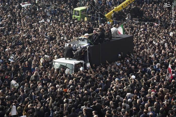 تشییع باشکوه آیتالله هاشمی رفسنجانی در تهران