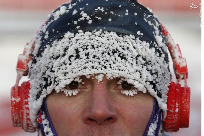 سرمای سخت در مسابقات سنتی دو در روسیه