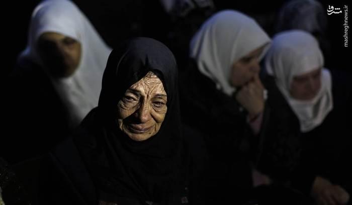 غم نزدیکان محمد، شهید فلسطینی در نابلس