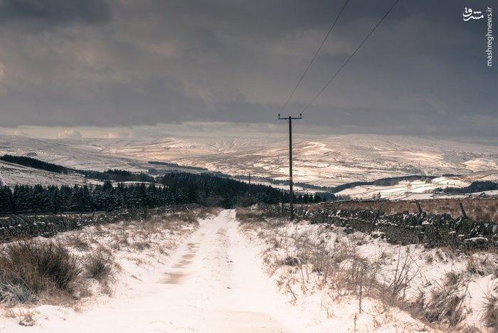 موج سنگین سرما در بریتانیا