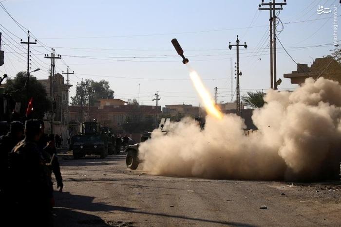 واکنش نیروهای واکنش سریع عراقی به حملات داعش