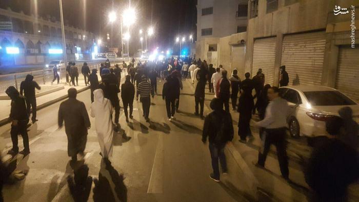 عکس/ ادامه اعتراضهای مردمی در بحرین