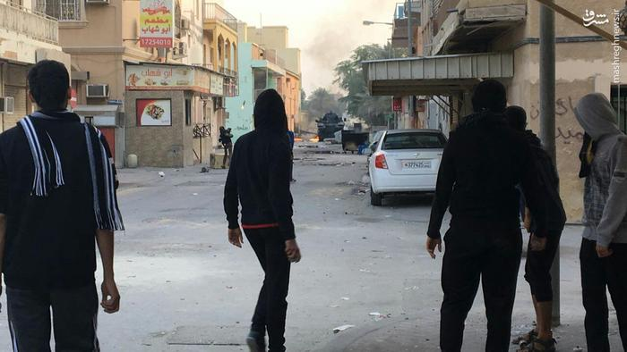 عکس/ شدت گرفتن درگیری ها در بحرین