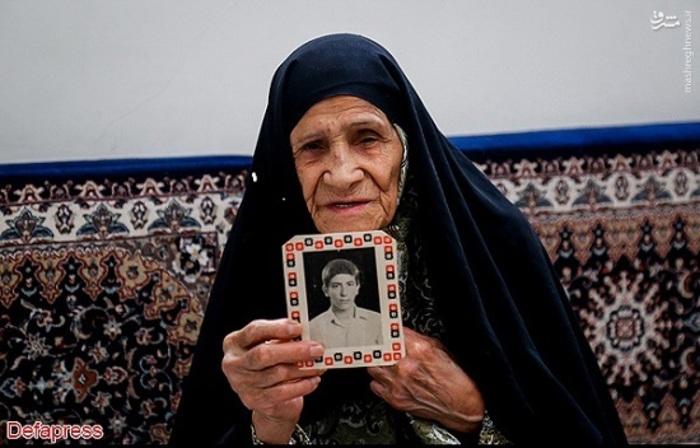 مادر شهید عبدالمجید رحیمی