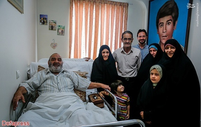 خانواده شهید عبدالمجید رحیمی