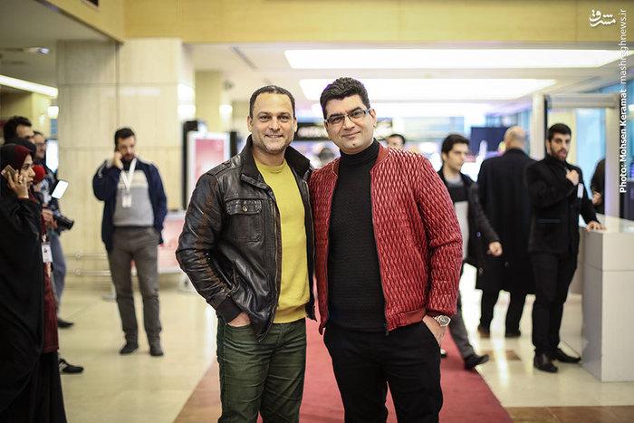 علی عطشانی و حسین یاری، کارگردان و بازیگر فیلک