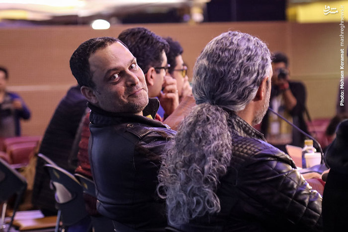 حسین یاری در نشست خبری فیلم