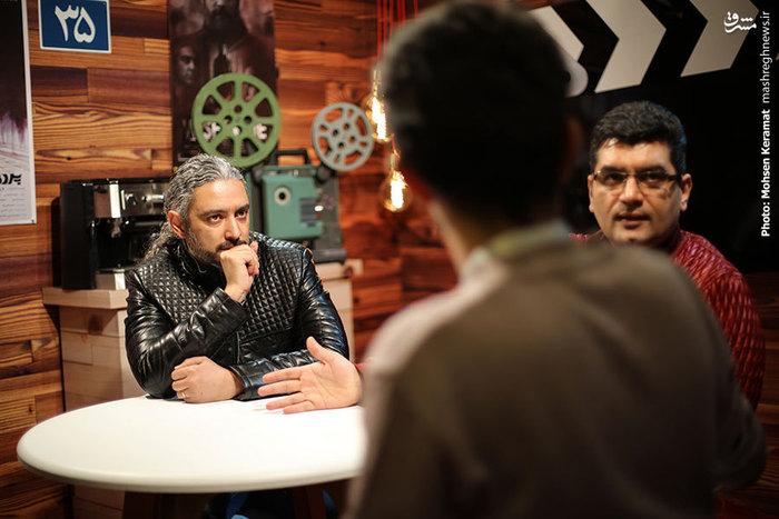 علی عطشانس و مازیار فلاحی