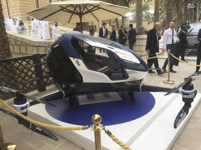 تاکسی پهباد در دُبی افتتاح شد + تصاویر جالب از تاکسی پرنده