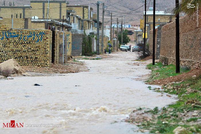 خسارت های سیل در داراب