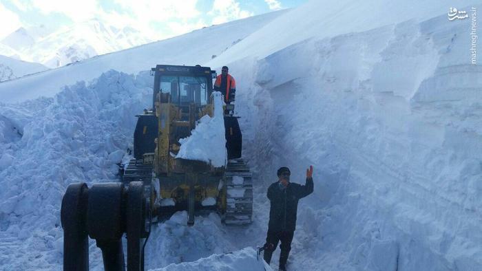 عکس/ برف در شهرستان الیگودرز