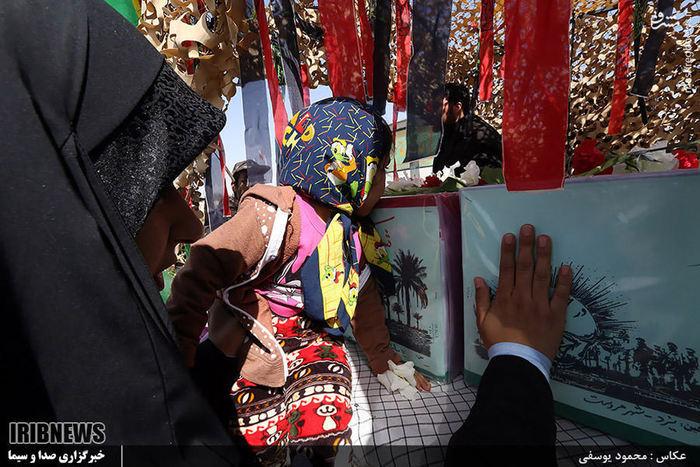 استقبال از ی گمنام در یزد