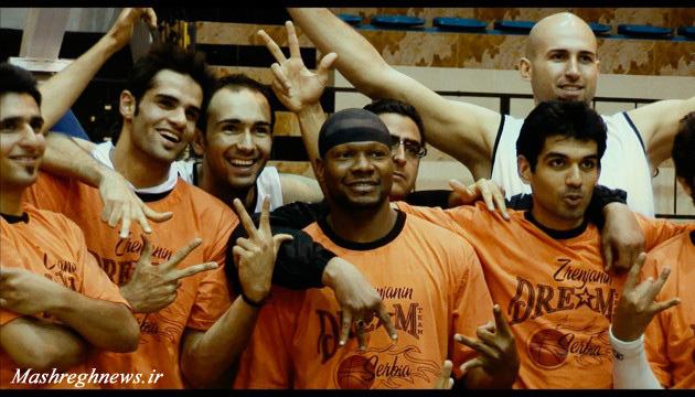 سوغات بسکتبالیست آمریکایی از ایران