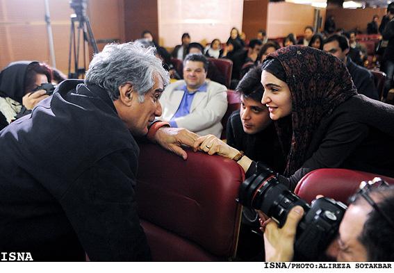 عکس: مواجهه صمیمانه هاشمی با دخترش