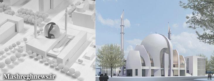 طرح مسجد جامع کلن آلمان
