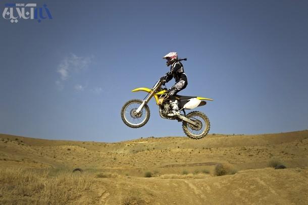 عکس دختر ایرانی موتورسوار