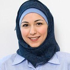 عکس کارمند با حجاب