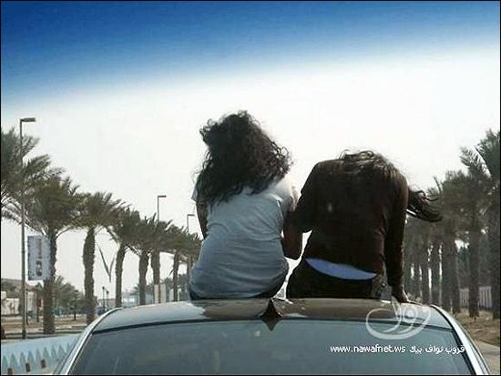 87038 462 بی حجابی علنی دختران سعودی در جده!! + عکس