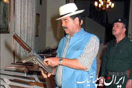 عکس های منتشر نشده ی صدام حسین! 99512_577