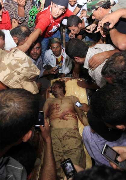 معمر القذافی