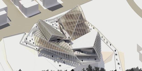 ساخت ساختمانی فوق العاده جالب و مدرن در تهران +عکس