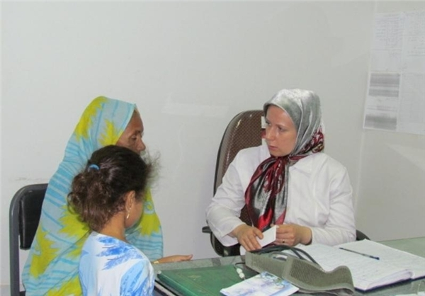 پزشک زن روسی در روستاهای ایران