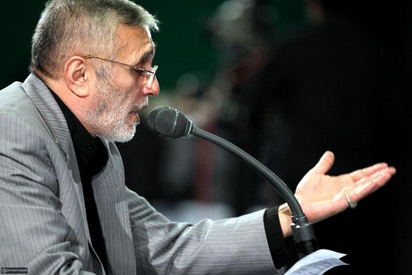 حاج منصور ارضی دعای کمیل حرم حضرت عبدالعظیم حسنی