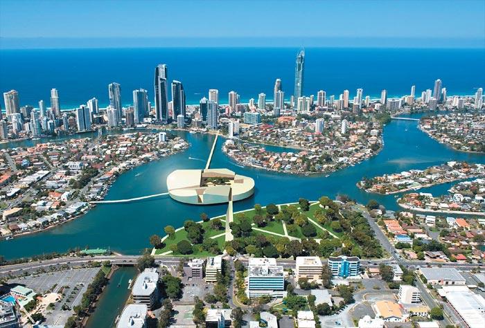 زیبا ترین شهرهای شناور در جهان