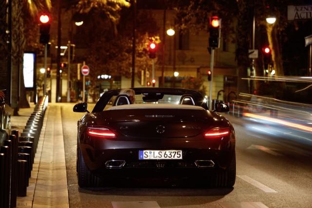 تصاویر مرسدس بنز SLS AMG متفاوت فقط برای سرعت www.TAFRIHI.com