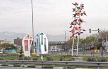 156024 436 کپی عجیب طرح های هنری شهرداری مشهد در تهران + عکس