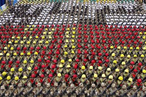 عکس های رژه روز ارتش