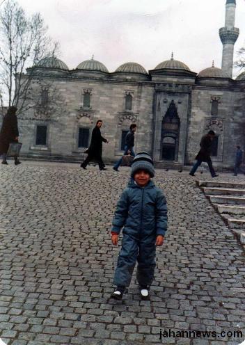 156871 474 کامران نجفزاده،۳۰سال پیش دراستانبول+ عکس