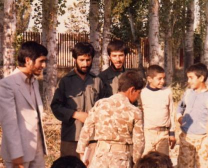 عکس/ احمدینژاد زمانی که فرماندار خوی بود