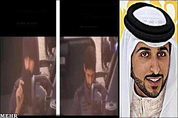 مشارکت پسر پادشاه بحرین در سرکوب مردم +عکس