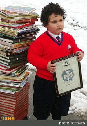 کودک ایرانی نابغه جهان شد +عکس