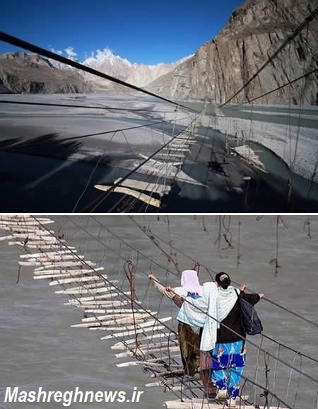 مرگبارترین پل های دنیا +عکس