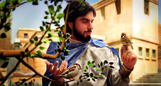 گنجشک و حضرت سلیمان(ع)