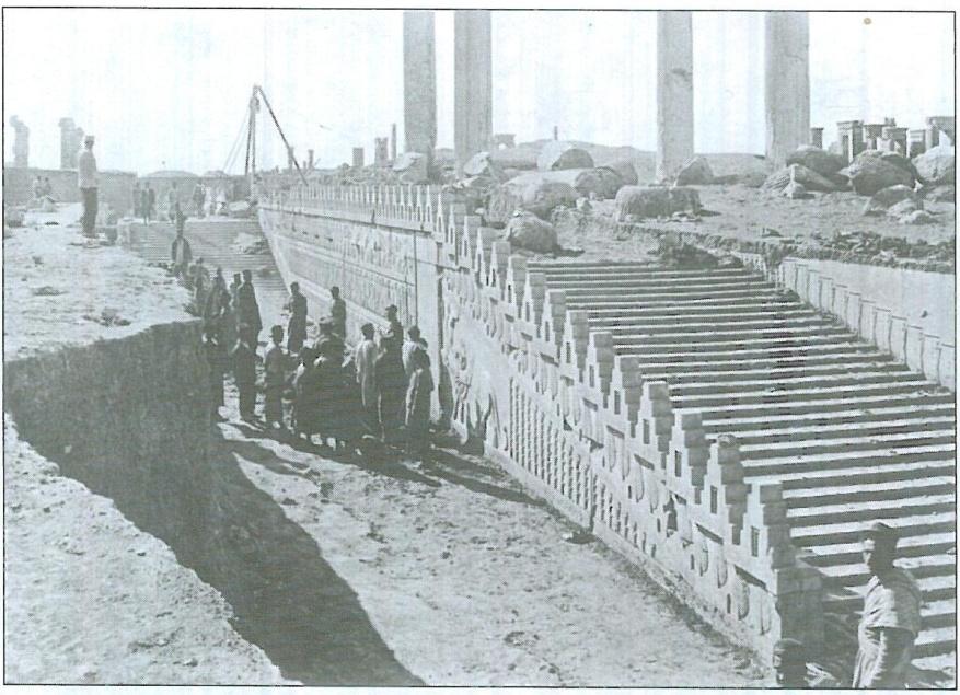 تاراج بزرگ آثار باستانی ایران در زمان خاندان پهلوی+عکس