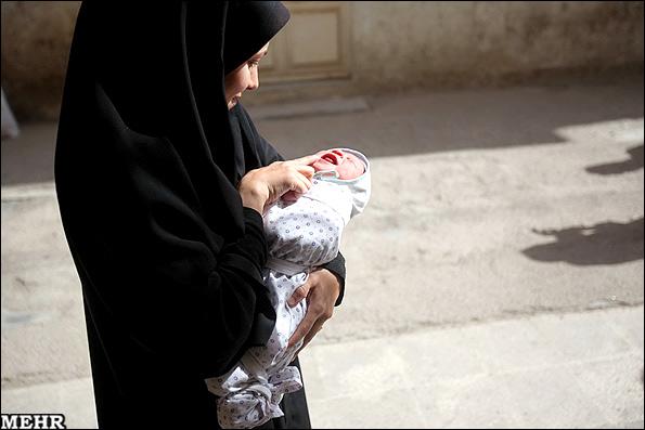 عکس نوزاد یک روزه زیبا