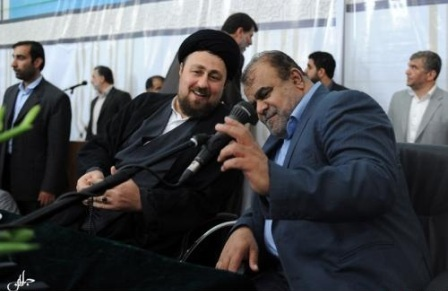 عکس/ سیدحسن خمینی و رستم دولت